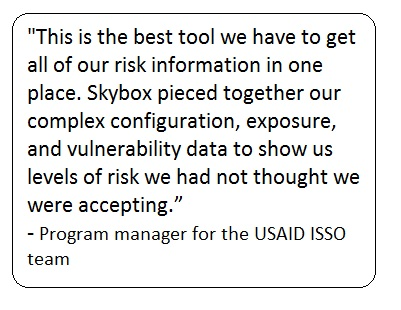 USAID ISSO Program Manager Quote